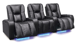 Comfortable Leather Theater Seating