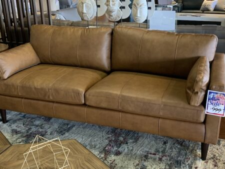 Best Trafton, leather sofa