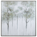 CALM FOREST HAND PAINTED CANVAS ITEM #35371