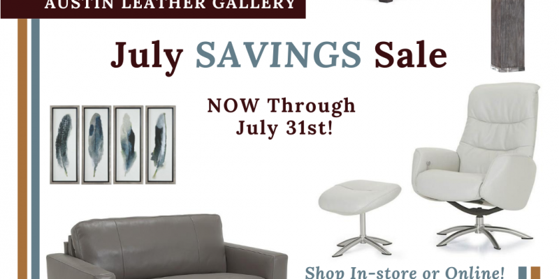 July Savings Sale